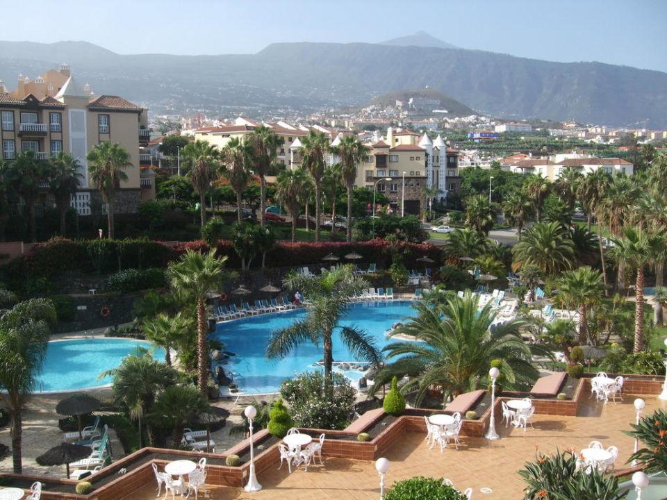 Blick von unserem Balkon Zimmer 333 Hotel Puerto Palace
