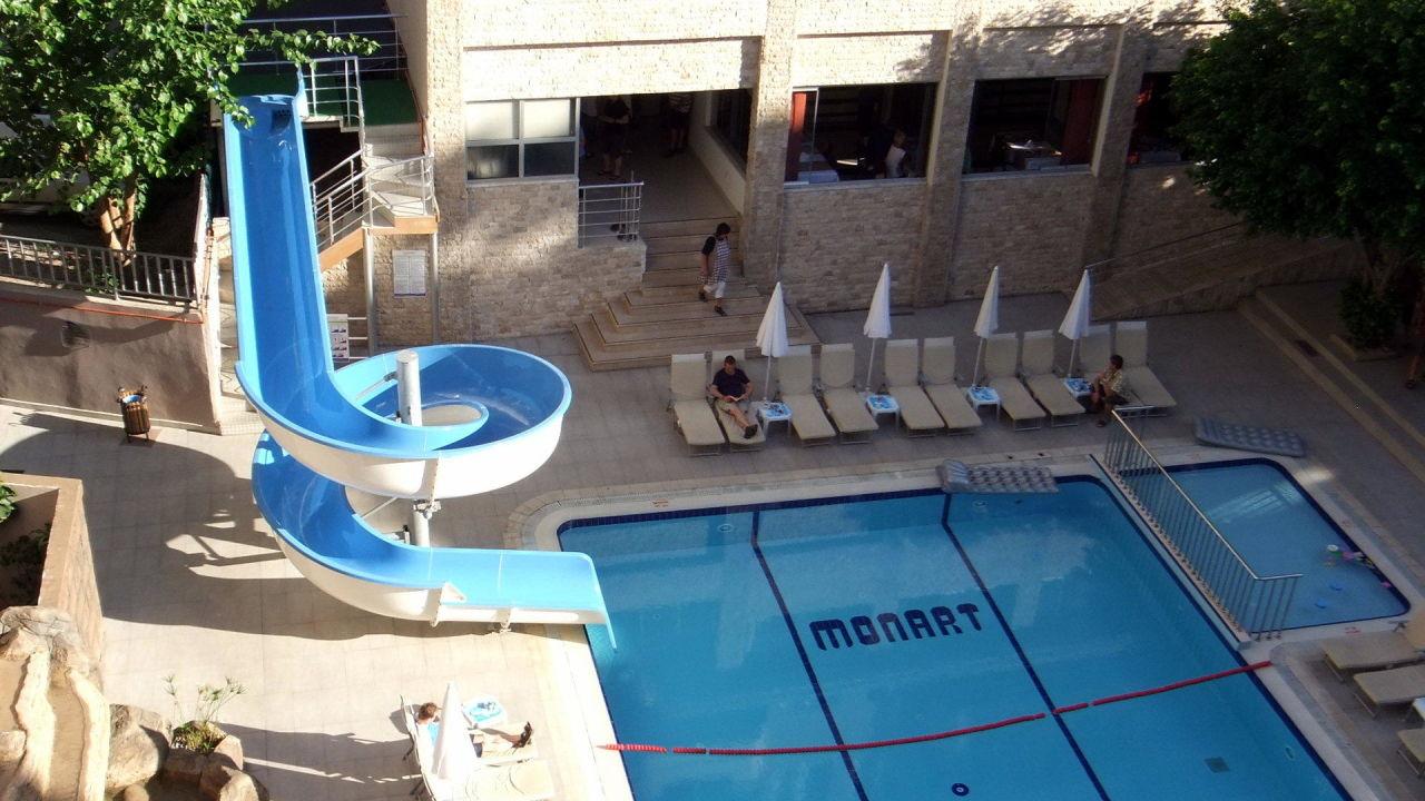 Hinterer pool mit wasserrutsche monart city hotel alanya holidaycheck t rkische riviera - Wasserrutsche fur pool ...