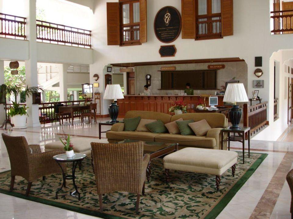 Rezeption Centara Grand Beach Resort & Villas Hua Hin