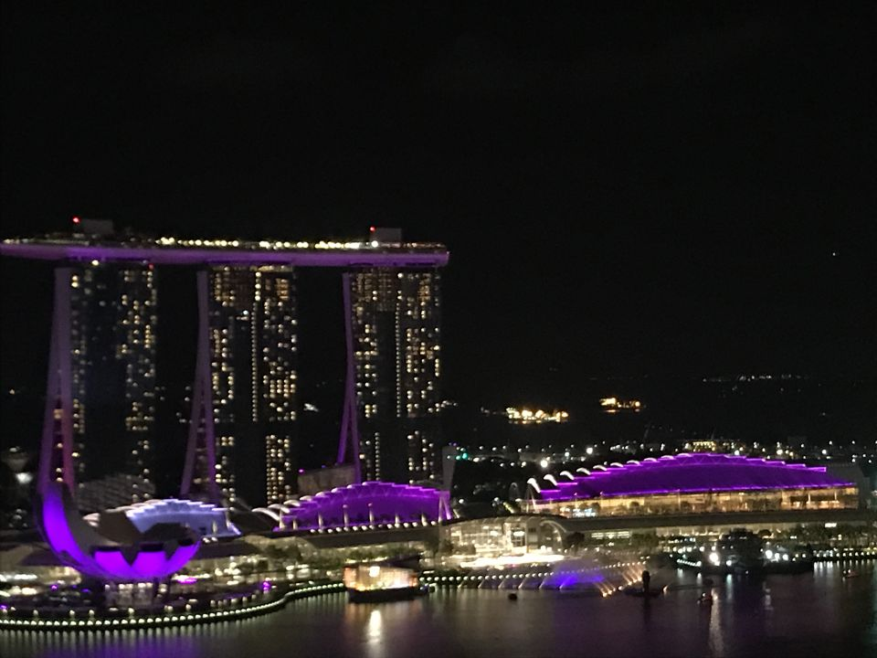 Ausblick Swissotel The Stamford Singapore