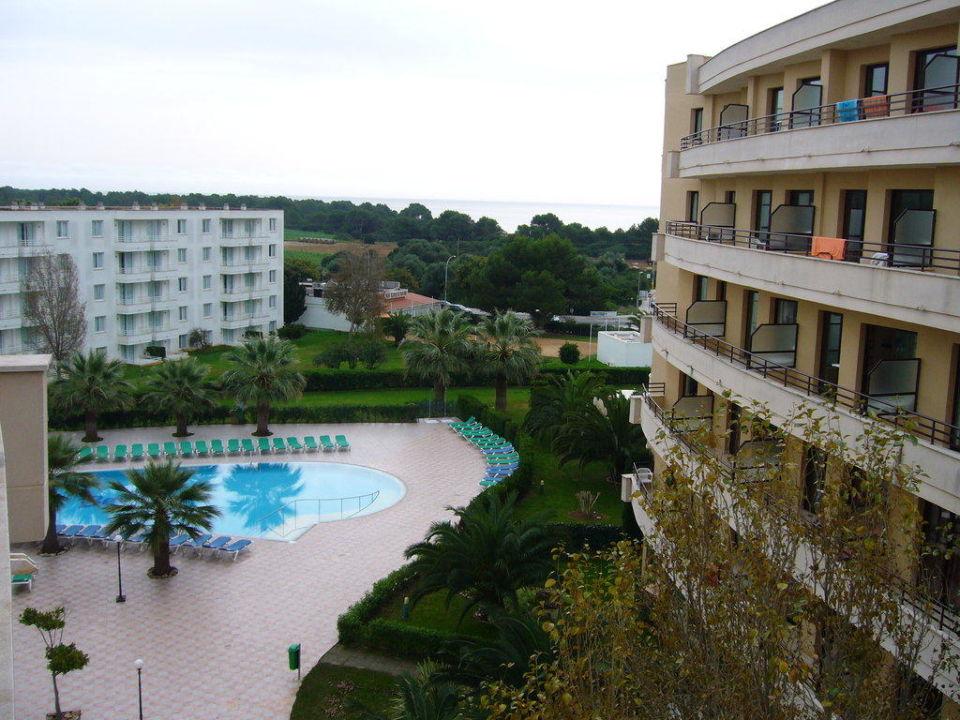 Seitlicher Meerblick allsun Hotel Orient Beach