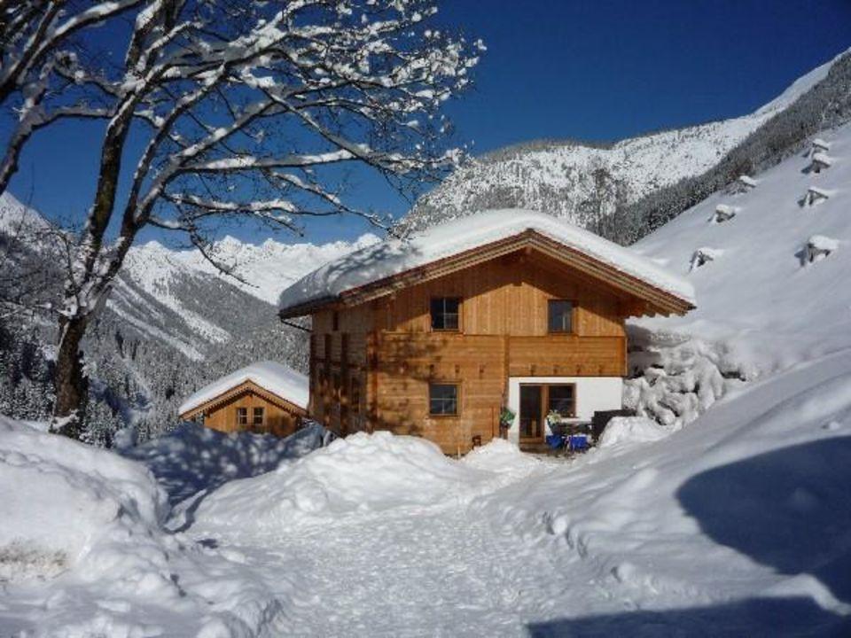 Familienhütte in Tirol Naturparkchalet
