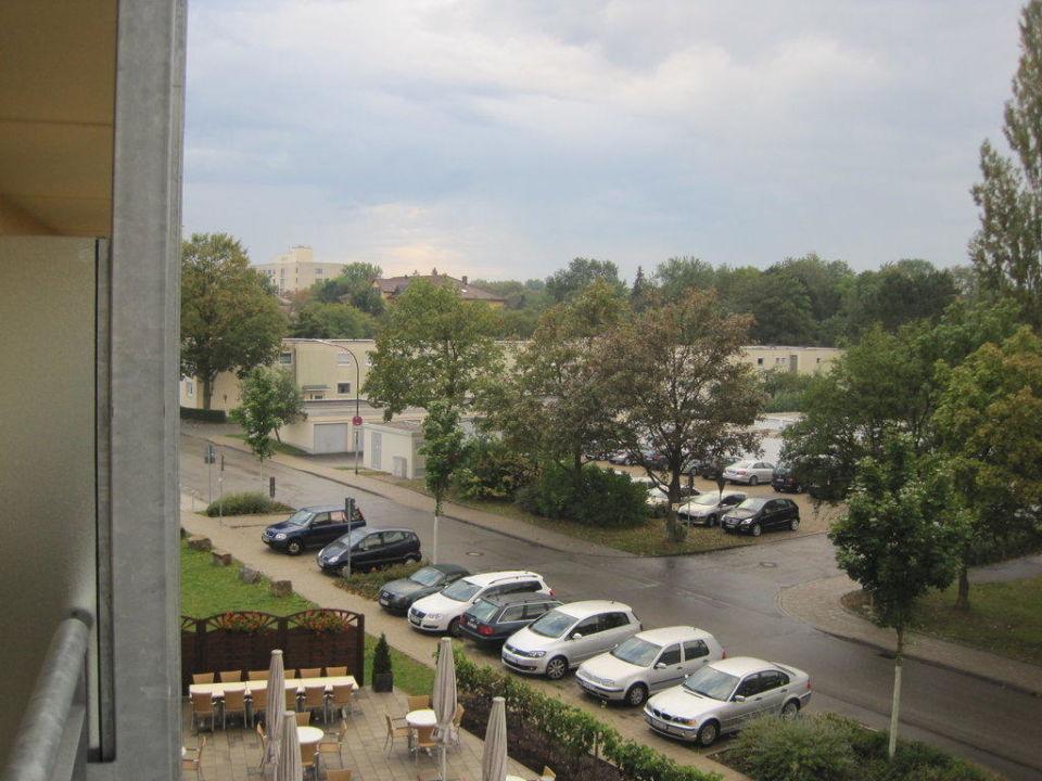 Quot Aussicht Aus Zimmer 213 Quot Hotel Pyramide In Bad Windsheim