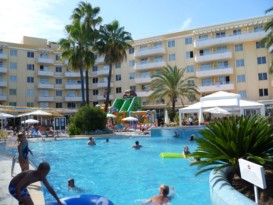 Pool aparthotel ivory playa in alcudia holidaycheck for Aparthotel d or jardin de playa