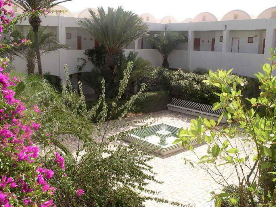 Innenhof Hotel Rym Beach Hotel Seabel Rym Beach Djerba