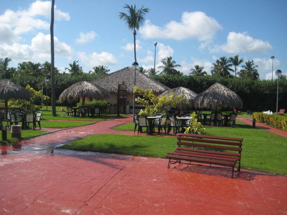Die Bar von den Sportplätzen Grand Palladium Bávaro Suites Resort & Spa