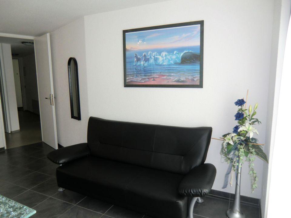 Wohnbereich 3.5-Zimmerwohnung Haus Alcazar