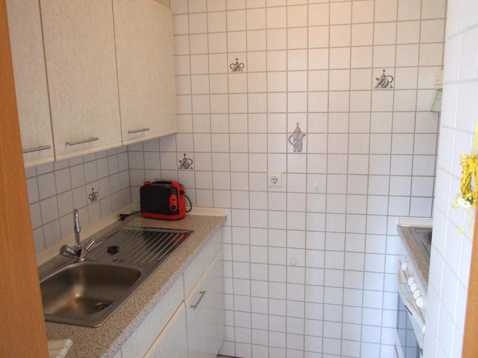 Kleine aber feine Küche der Ferienwohnung Dorothee\