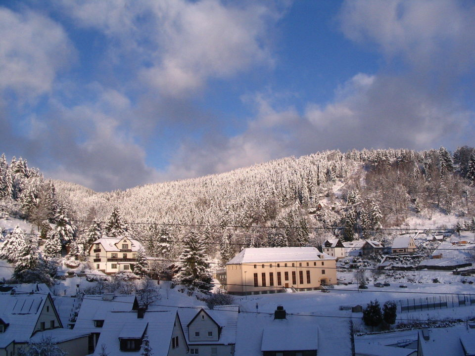 Winter Im Thuringer Wald Hotel Schone Aussicht Steinach