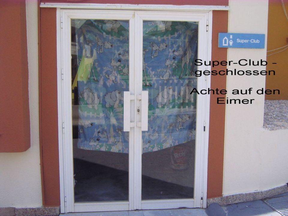 Kinderclub - geschlossen Hotel Blau Punta Reina