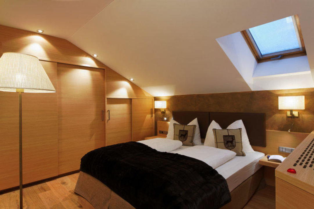 Doppelzimmer im Appartement Typ C Residence Hotel Alpinum