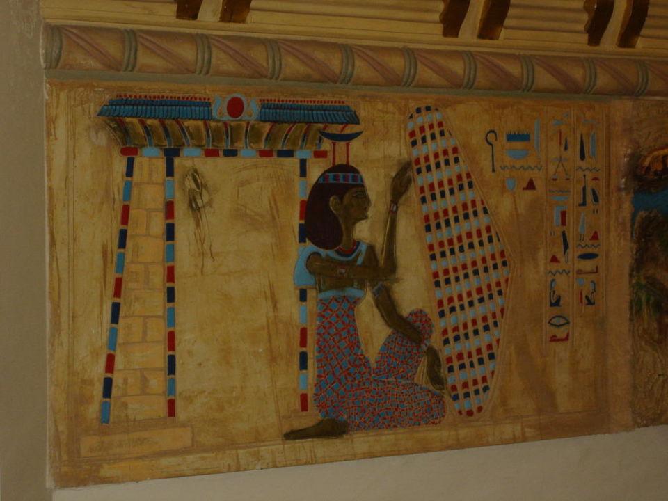 Malowidła na ścianie Hotel Seagull Beach Resort
