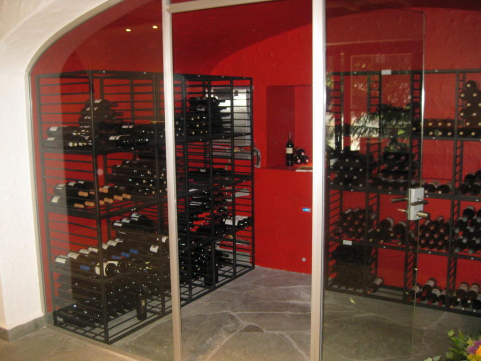 Weinkeller im Restaurant Europe Hotel & Spa