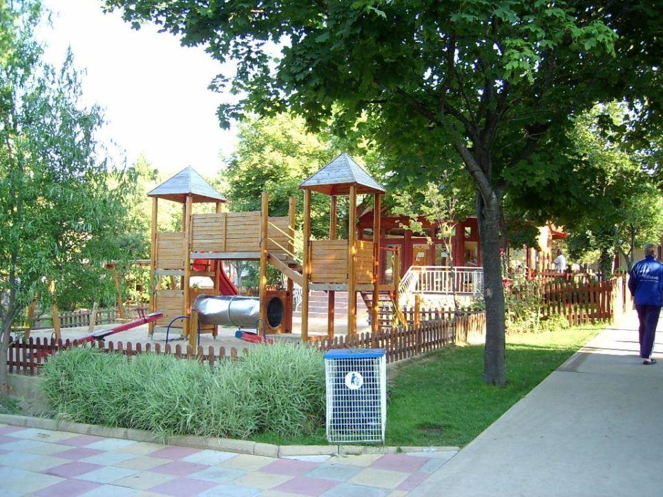 Hotel Vita Park in Albena - Bulgarien im Jahr 2003 Kinderspi Hotel Vita Park