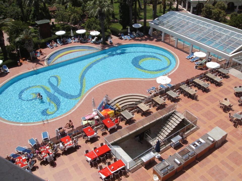Blick aus dem Zimmer 430 Hane Hotel