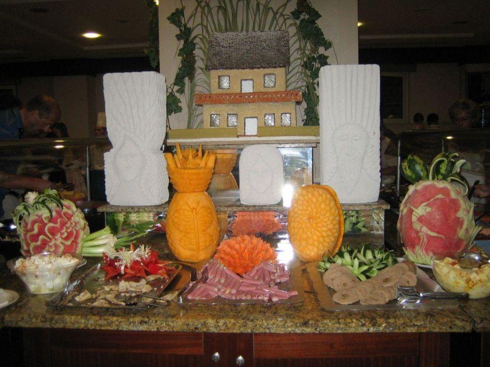 Buffet im Restaurant Hotel Fame Residence Kemer