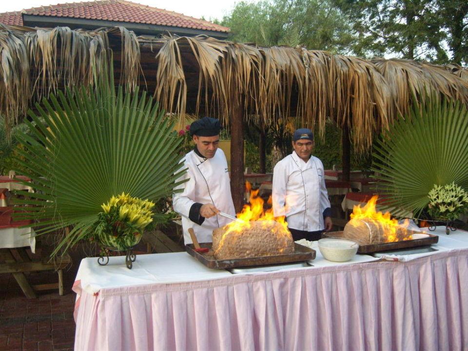Die Köche gaben sich viel Mühe! Hotel Club Dizalya