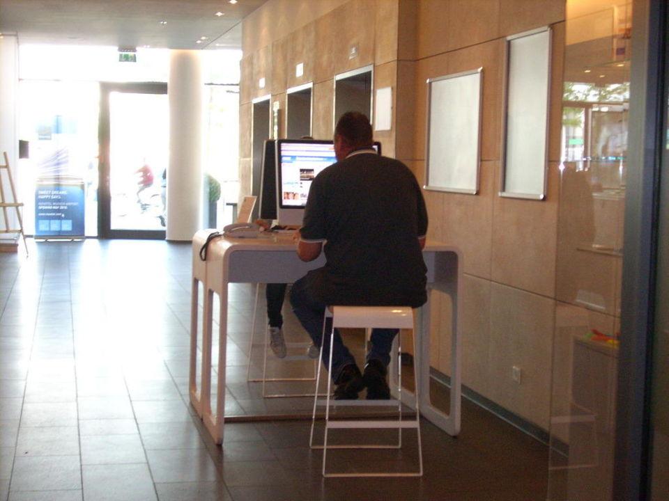 Das kostenlose Internet Terminal Hotel Novotel München Messe