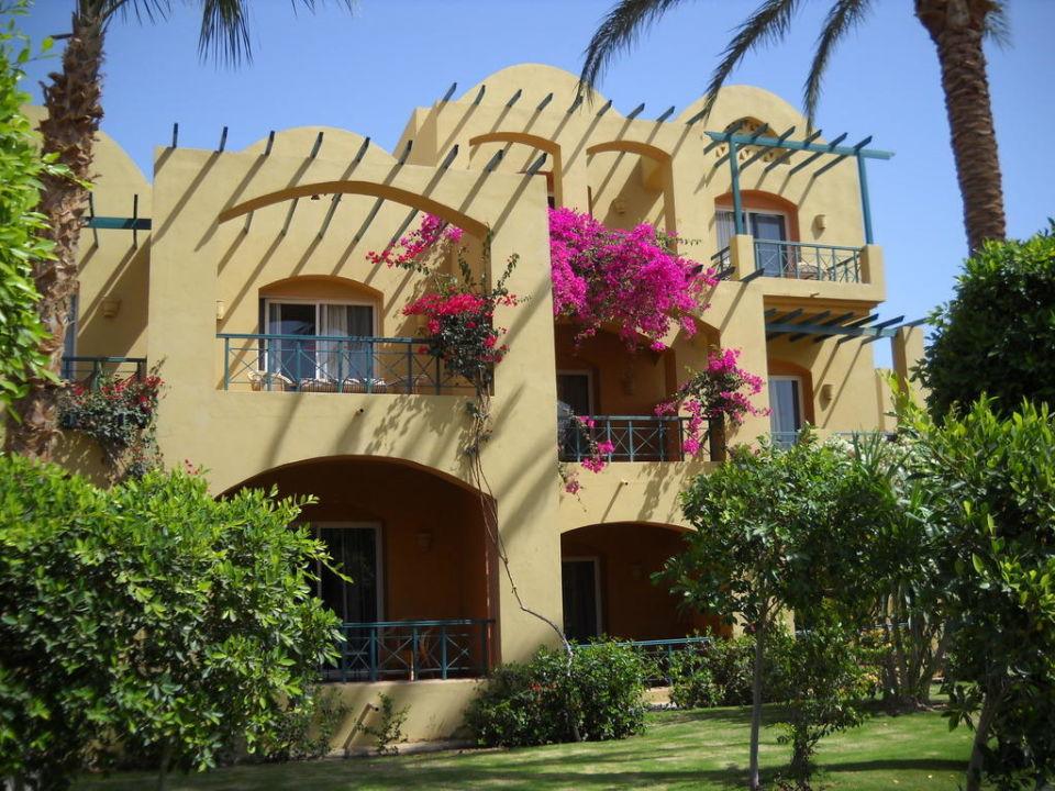 Auf dem Weg zum Strand Hotel JAZ Makadi Star & Spa