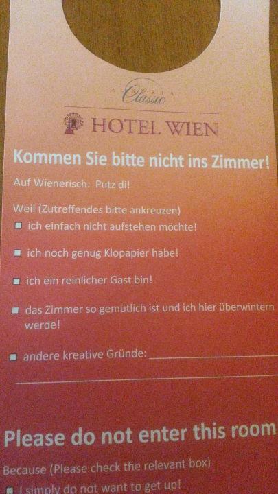 Gute Sprüche Austria Classic Hotel Wien Wien Holidaycheck