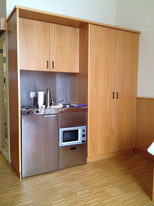 Kühlschrank, Spüle, Mikrowelle (DZ als EZ gebucht) CURHAUS Bad Mühllacken