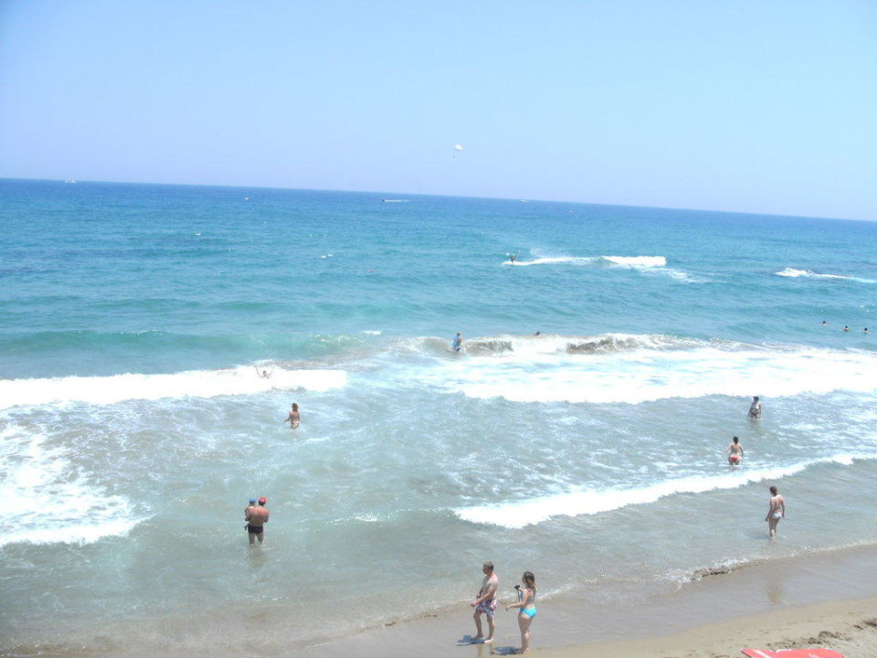 Der Strand des Star Beach Hotel Royal Belvedere
