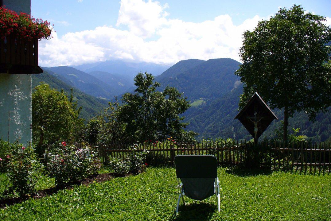 Der Urlaub naht - Röllhof und Latemar in Wolken Pension Röllhof
