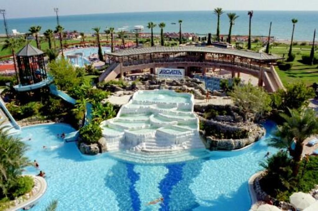 Hotelanlage Merit Arcadia Golf Resort in Belek Limak Arcadia Hotel & Resort