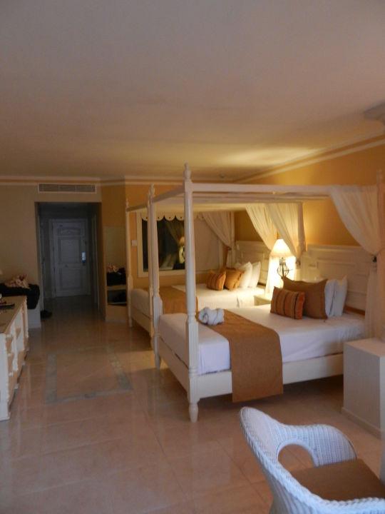 """schlaf-/wohnzimmer"""" luxury bahia principe bouganville don pablo, Wohnzimmer"""