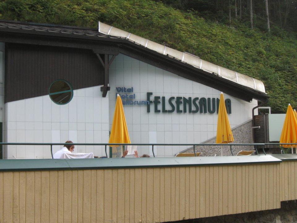 Felsensauna