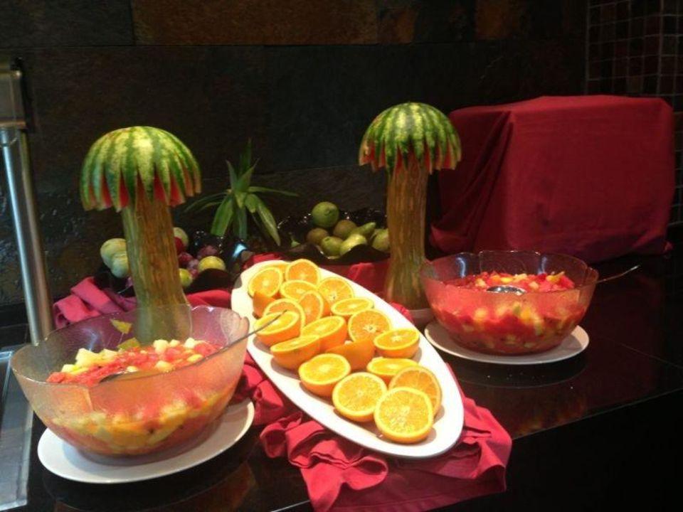 Obst als deko und zum essen hotel torre azul spa el for Deko essen