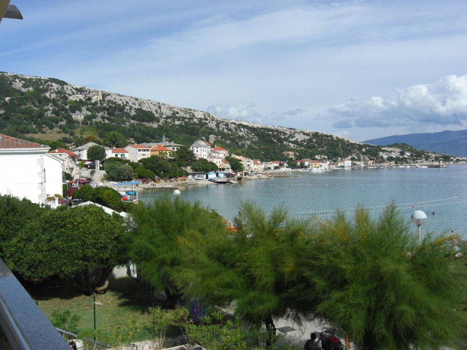 Blick vom Balkon Valamar Villa Adria
