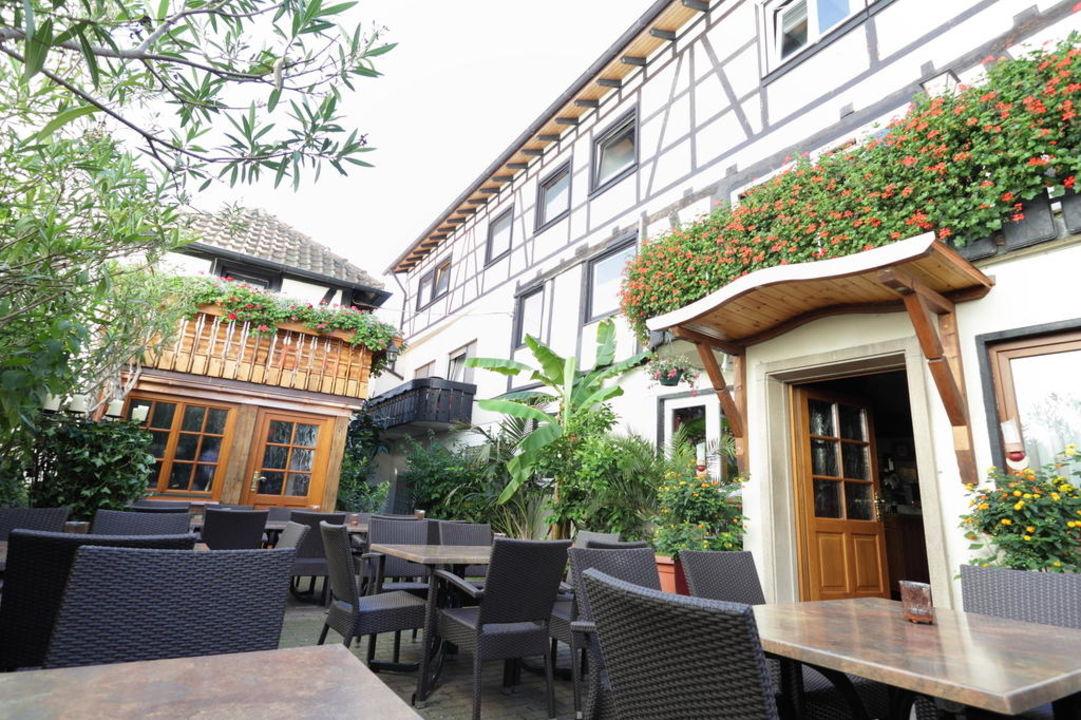 Innenhof Hotel zum Riesen