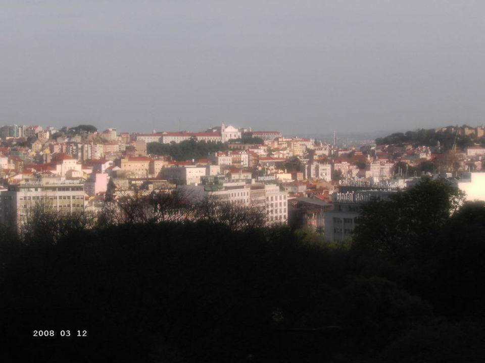 Ausblick vom Balkon Hotel Sana Classic Rex