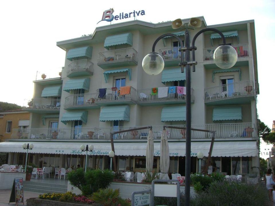 Strandansicht Hotel Bellariva/Jesolo Hotel Bellariva