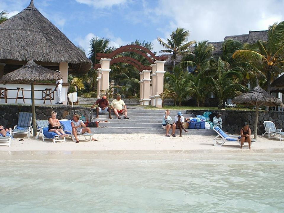 Aufgang zum Hotel Veranda Palmar Beach Hotel