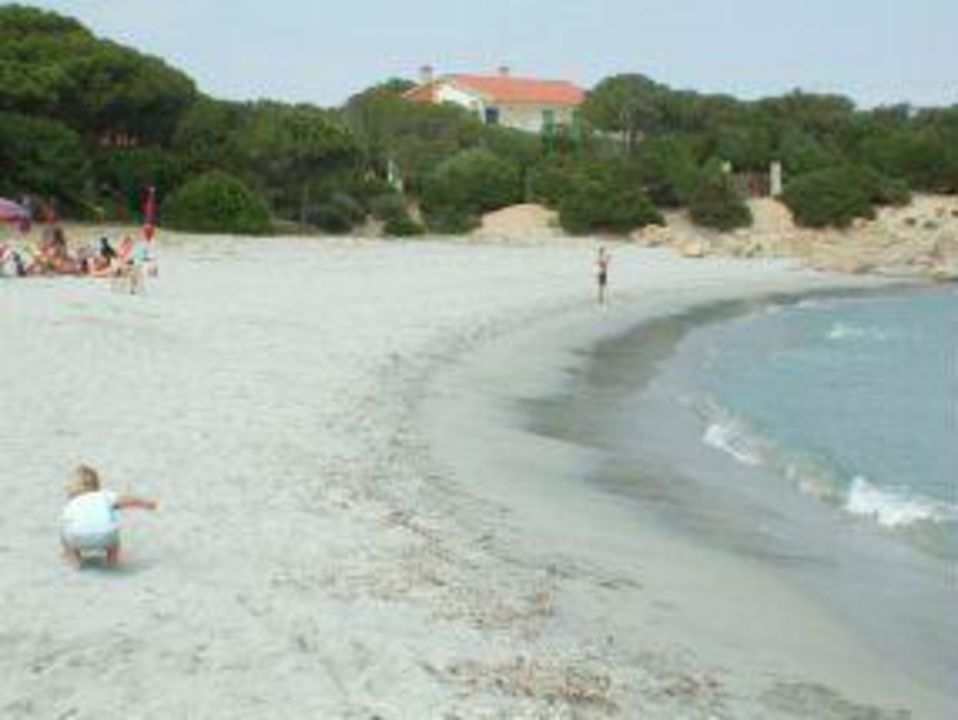 Traumhaus am strand  Strand von Cala Liberotto