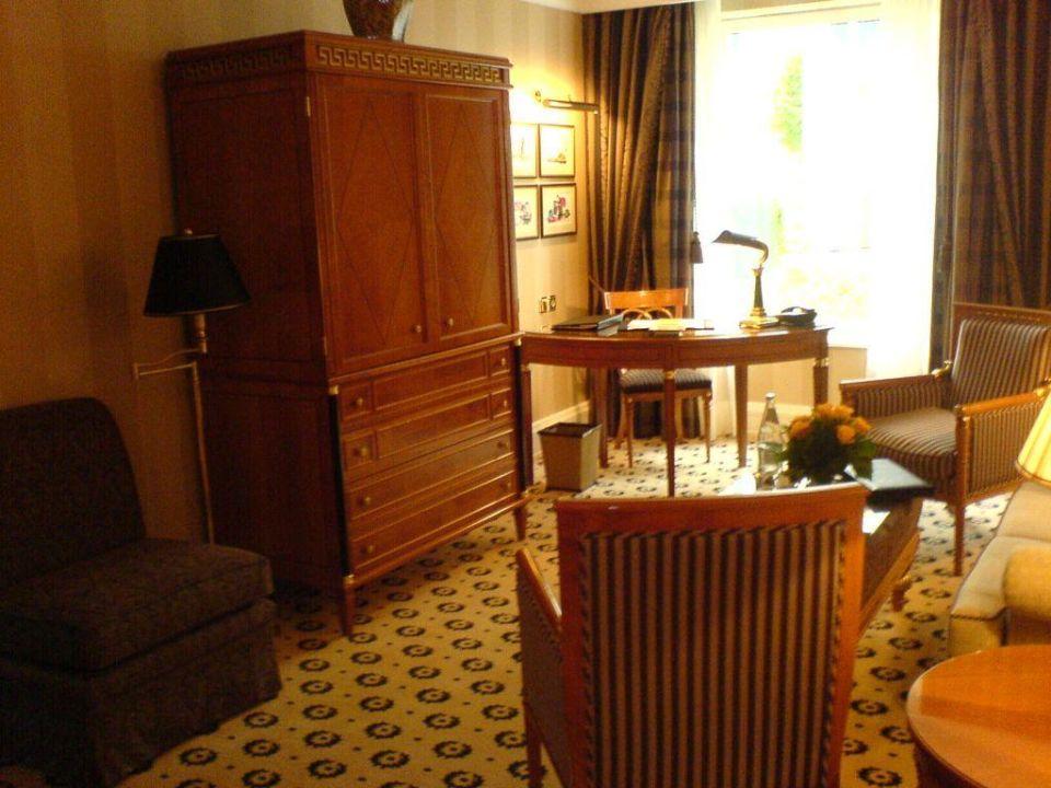 Wohnzimmer Einer Bellevue Suite The Ritz Carlton Berlin