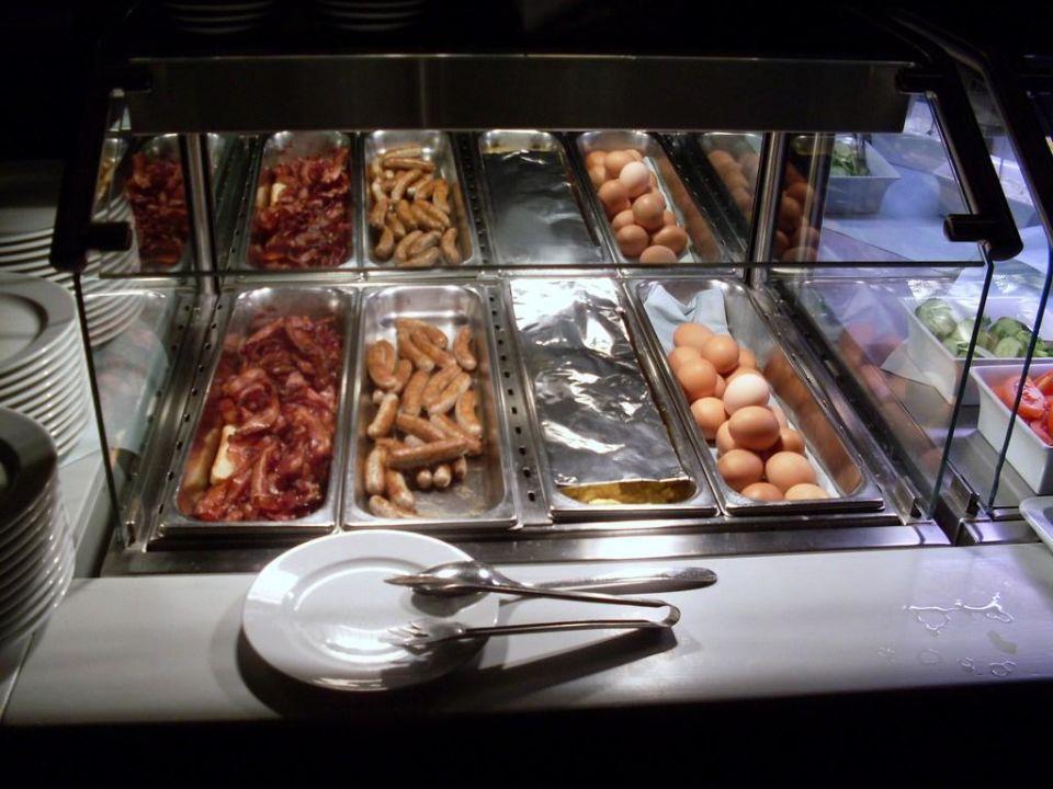 Bayrisches Buffet - Warme Speisen Hotel Jodquellenhof Alpamare (Hotelbetrieb eingestellt)
