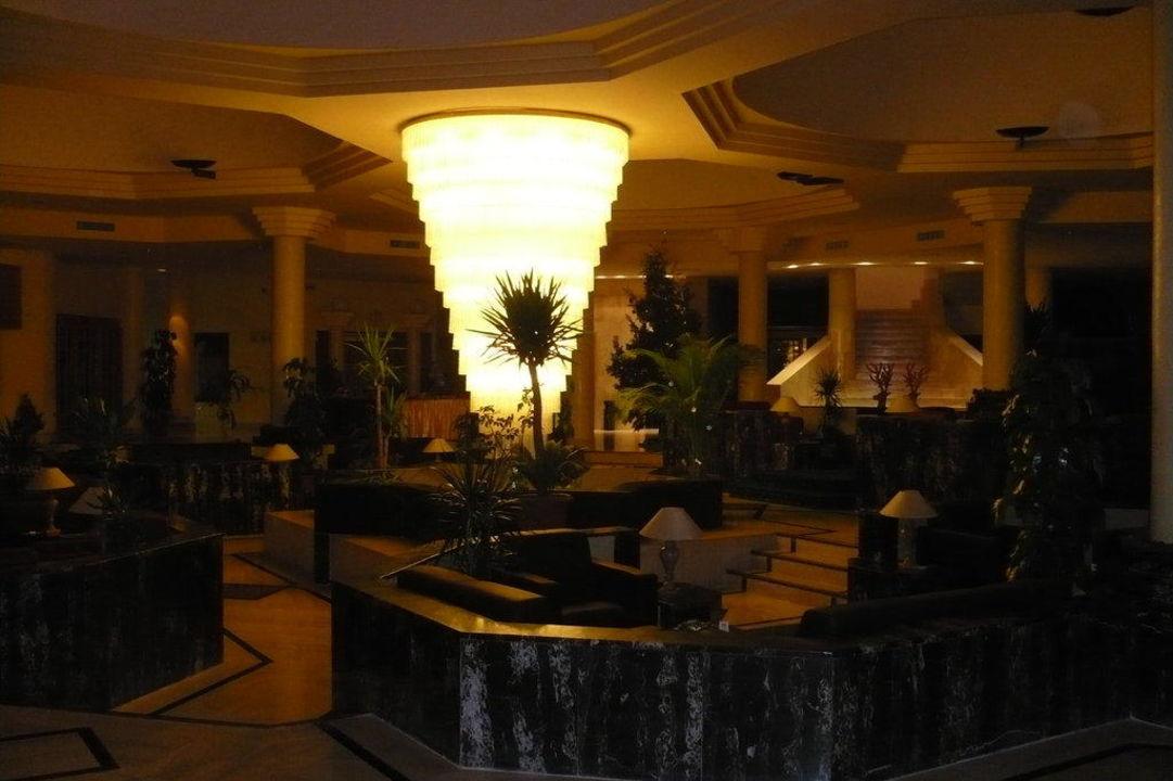 Gemütliche und beeindruckende Lobby Hotel Green Park  (Vorgänger-Hotel – existiert nicht mehr)