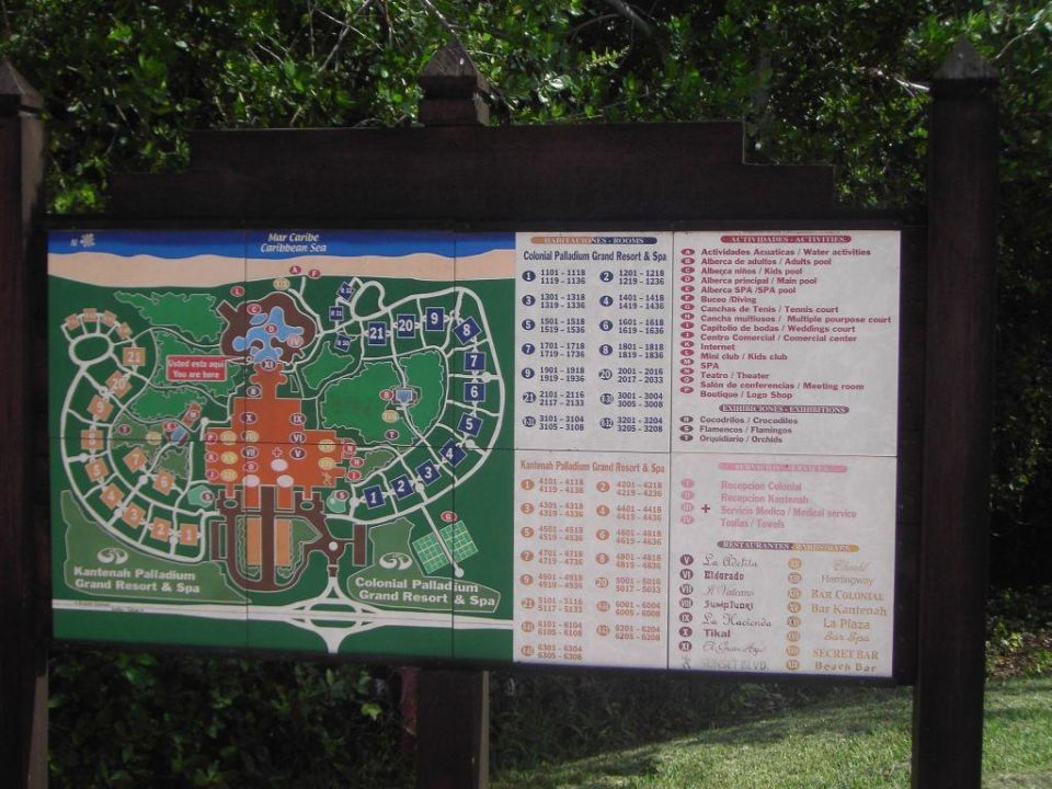 Übersicht Hotelanlage Grand Palladium Kantenah Resort & Spa