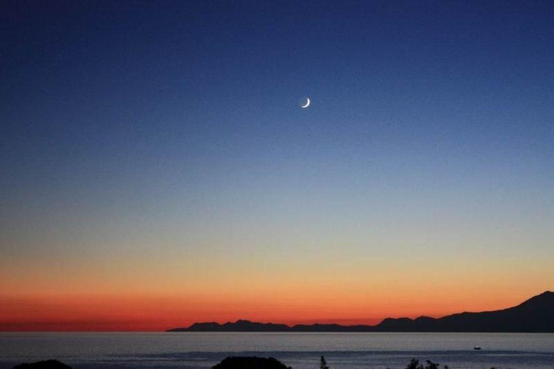 Sonnenuntergang am Strand 2 Ela Quality Resort Belek