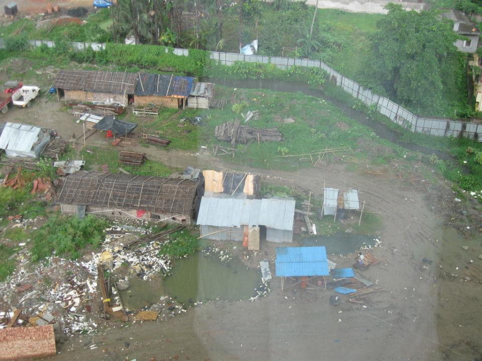 Ausblick aus dem Zimmer Hotel Swissôtel Kolkata