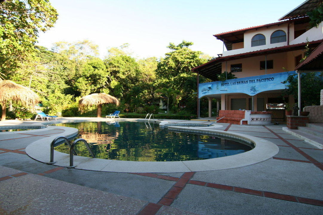 Pool mit Rezeption Hotel Las Brisas del Pacifico