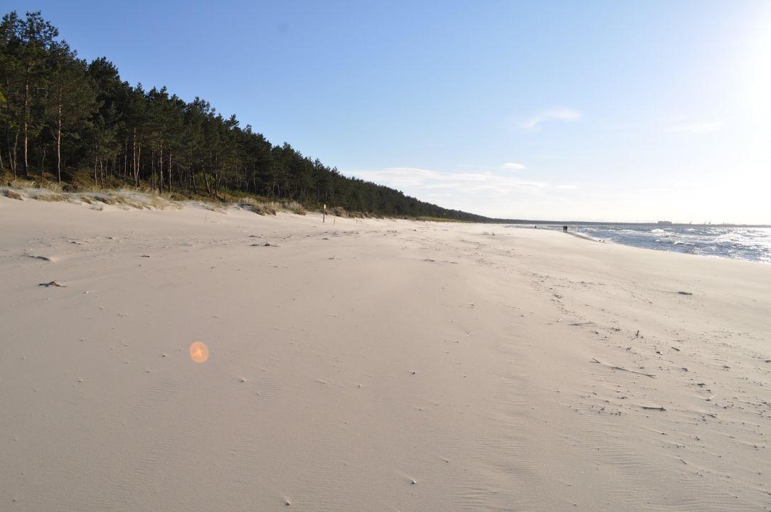 Strand in der Nähe Hotel Lubiewo Forest &Sea Resort