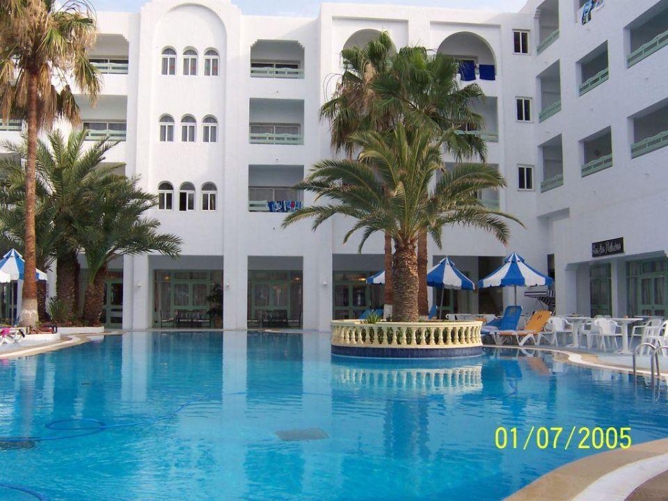 Poolblick Hotel Paradis Palace