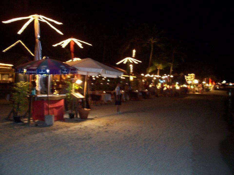 Strand am Abend Hotel Baan Chaweng Beach Resort & Spa