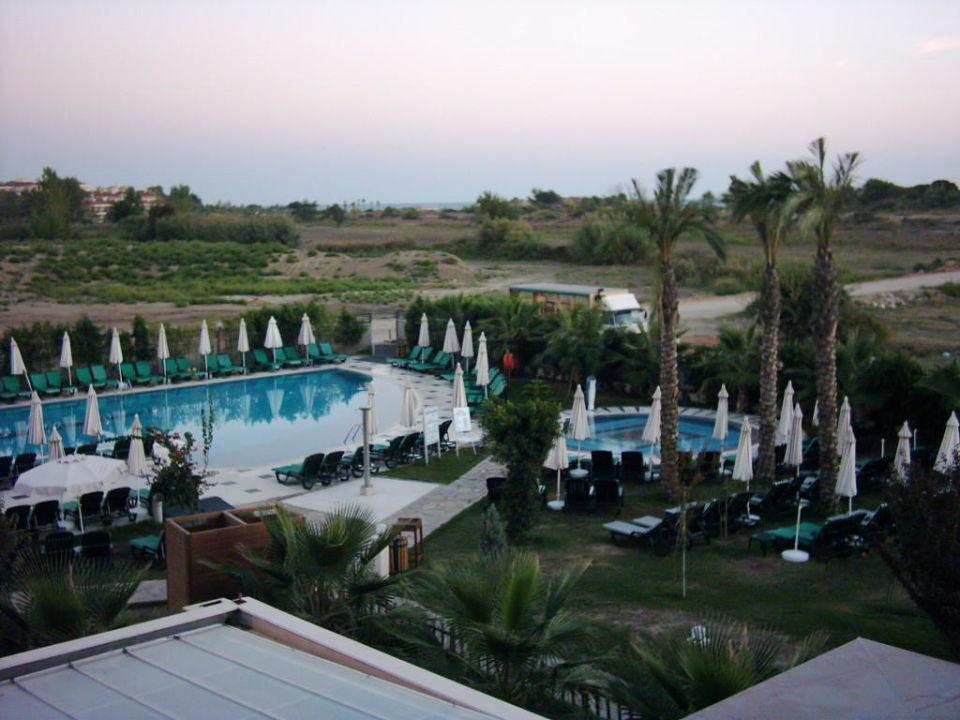 Sicht von Balkon PrimaSol Hane Family Resort