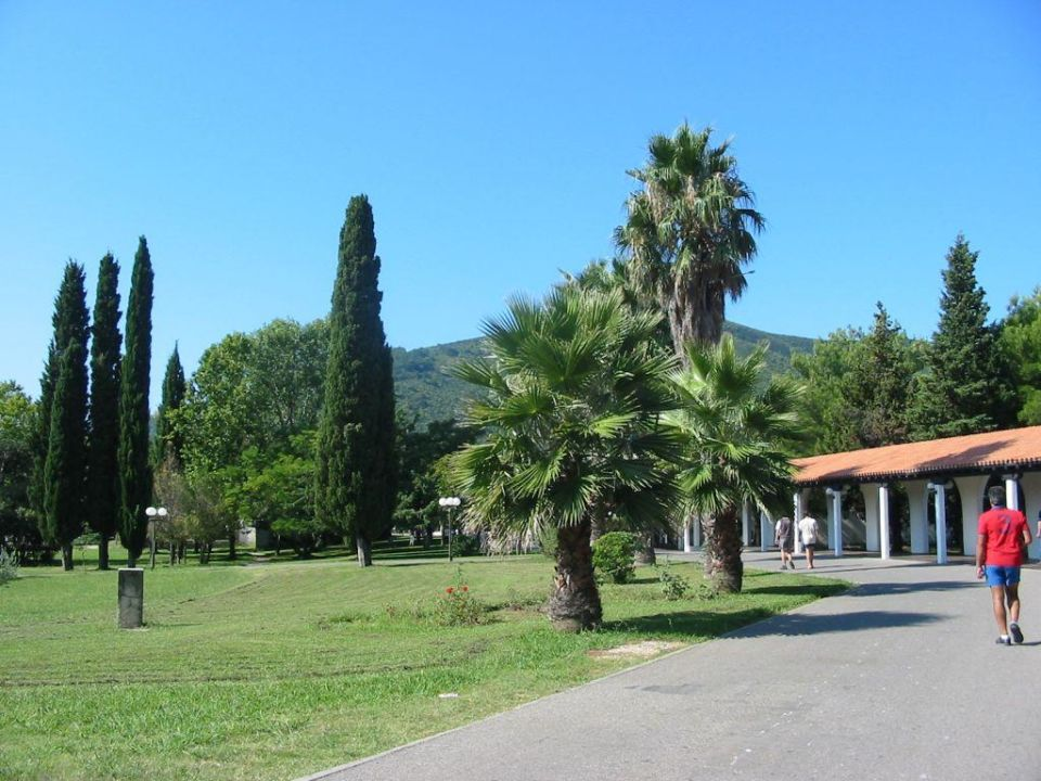 Hotelaussenanlage Holiday Park Slovenska Plaza