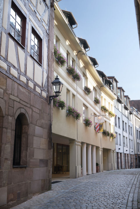 Außenansicht Agneshof Partner of Sorat Hotels